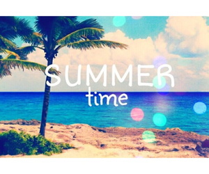 summer, summertime, and friends image