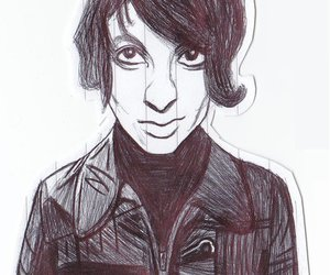 art, artwork, and the horrors image