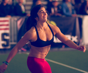 beautiful, gym, and muscle image