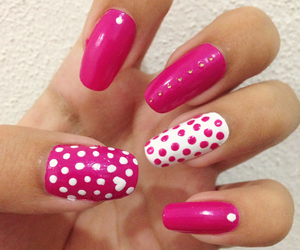 dots, parfumerie, and nails image