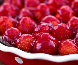 butter, milk, and strawberries image