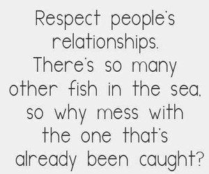 Relationship, fish, and respect image