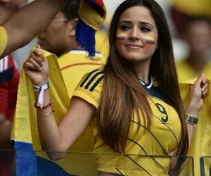 colombia, football, and girl image