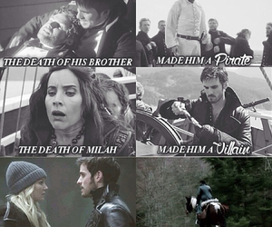 pirate, captain hook, and ouat image