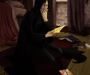 Letter, severus snape, and lily evans image