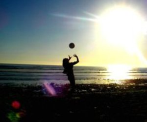 beach, beautiful, and california image