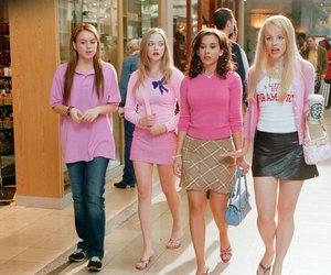mean girls, pink, and lindsay lohan image