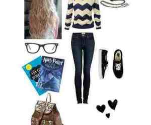 casual, harry potter, and outfit image