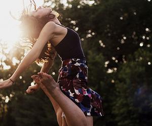 girl and jump image