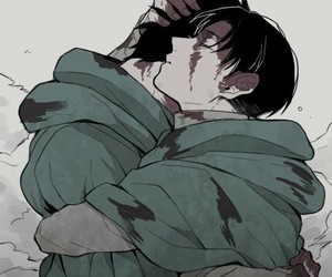 blood, levi, and war image