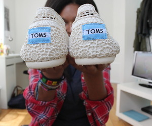 shoes, toms, and want image