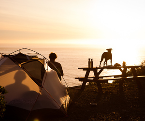 adventure and tent image