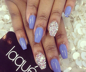 pretty nails, gel manicure, and laque nail bar image
