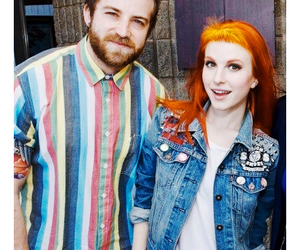 band, hayley williams, and jeremy davis image