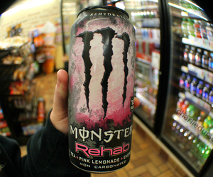 drink, energy, and monster image