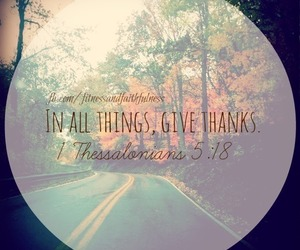 quotes, thank you, and give thanks image