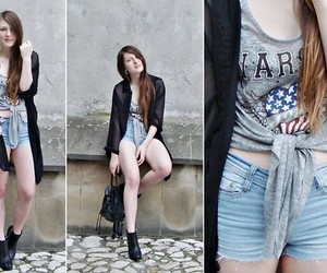 girl and lookbook image