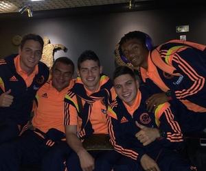 colombia, seleccion, and futbol image