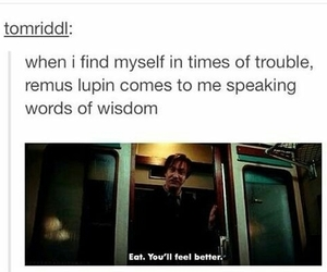harry potter, funny, and remus lupin image
