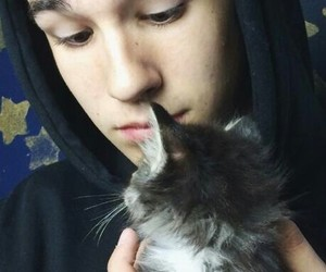 cat, jacob, and whitesides image