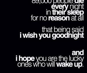 goodnight, die, and sleep image