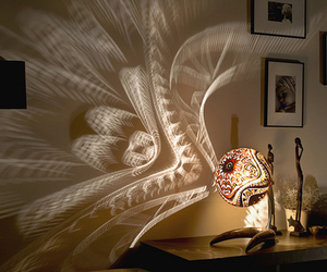lamp, light, and funny image