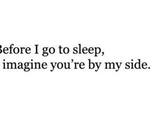 love, sleep, and quote image