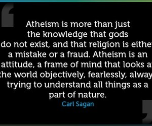 atheist, gone, and no God image