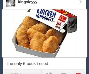 tumblr, McDonalds, and nuggets image