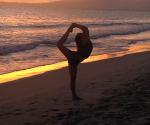 ballet, passion, and beach image