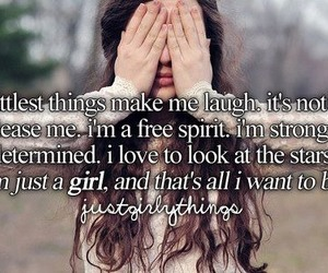 girl, quotes, and laugh image