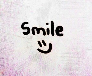 art, pink, and smile image