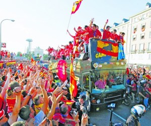 spain and world cup image
