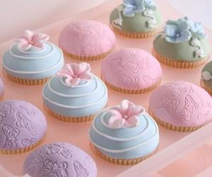 cupcakes, lovely, and pastry image