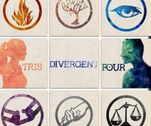 tris, four, and divergent image