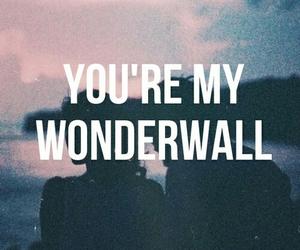 wonderwall, love, and oasis image