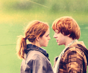 cute, love, and ron and hermoine image