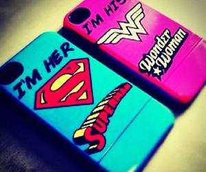 superman, case, and couple image