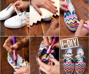diy, shoes, and girl image