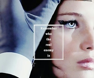 katniss everdeen, hunger games, and Jennifer Lawrence image
