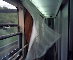 train and wind image