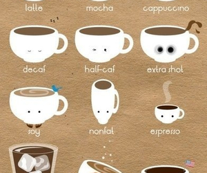 coffee, latte, and cappuccino image