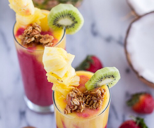 FRUiTS, heart, and smoothie image