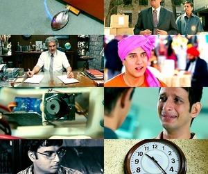 bollywood, aamir khan, and 3 idiots image