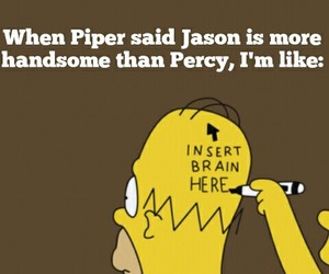 percy jackson, jason grace, and piper mclean image