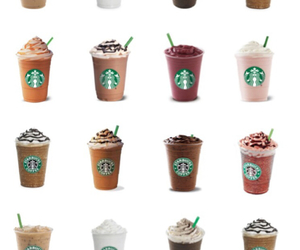 background, starbucks, and transparent image