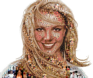 art, britney spears, and mosaic image