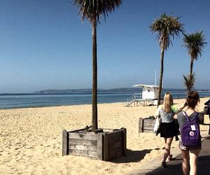 beach, travel, and fun image
