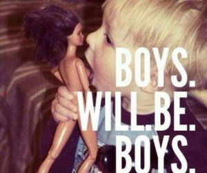 boy, barbie, and funny image