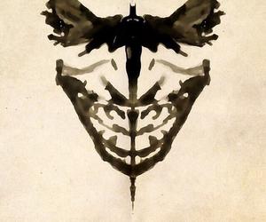 batman, joker, and black image